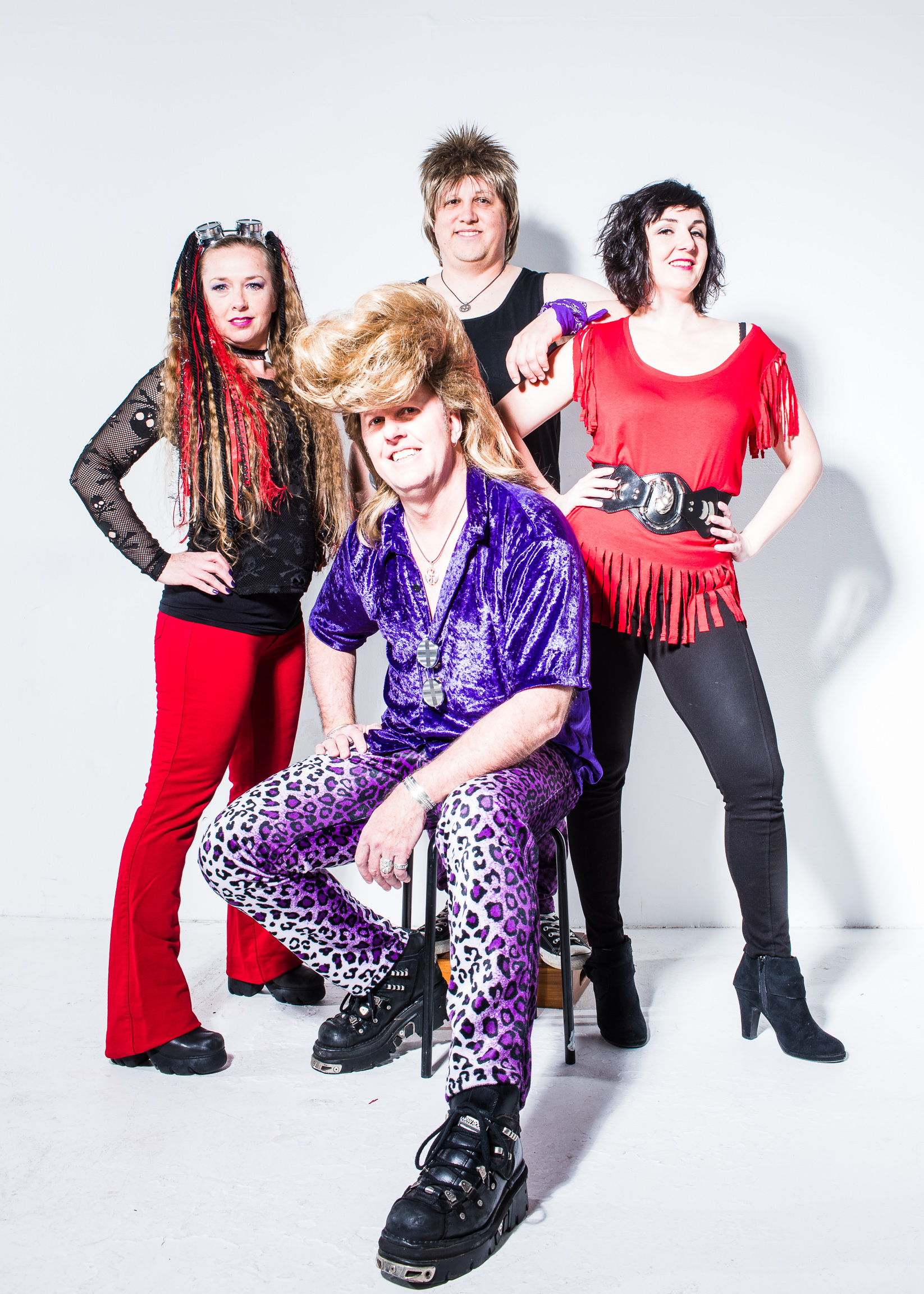 Ronnie Raygun | Eighties Band | Party Band | Hi-Res