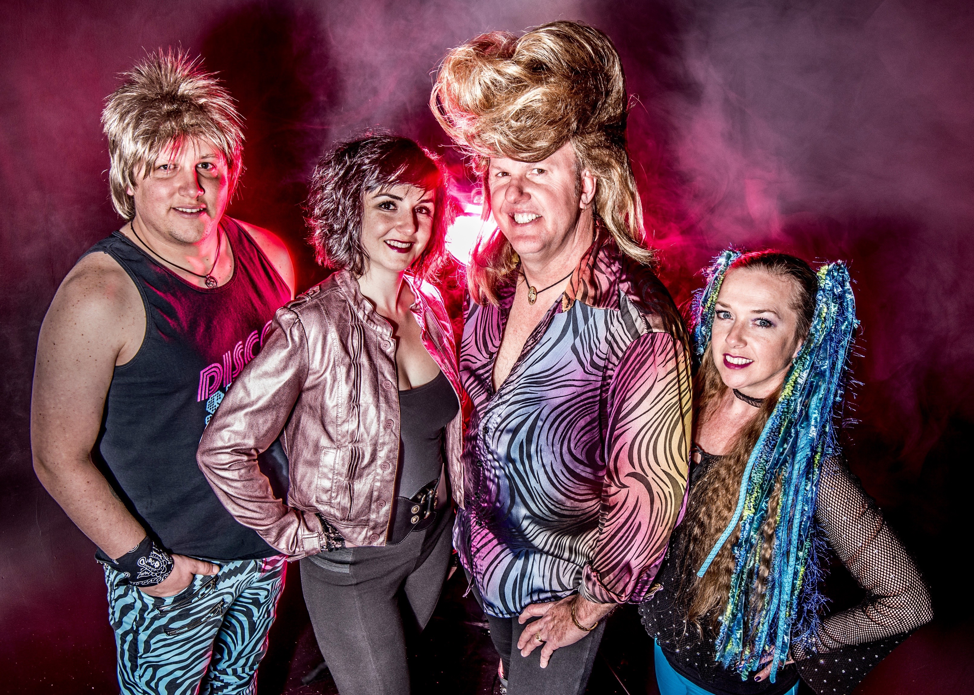 Ronnie Raygun | Eighties Band | Hi-Res